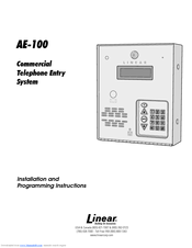 95722_ae100_product linear access ae 100 guide manuals  at webbmarketing.co