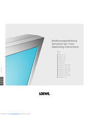 Loewe TV Aventos 3972 ZP Bedienungsanleitung