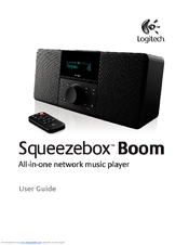 logitech squeezebox boom user manual pdf download rh manualslib com logitech squeezebox user guide Accordion Squeezebox