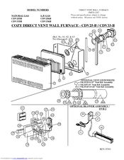 96510_cdv255b_product cozy cdv335b and manuals wiring diagram for cozy wall furnace at bakdesigns.co