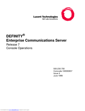 Lucent Technologies 6424D M Operation Manual
