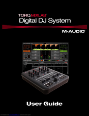M-Audio Digital DJ System User Manual
