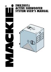 mackie swa2801z manuals rh manualslib com Mackie Subwoofer 1500 Mackie Powered Subs