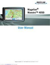 magellan maestro 4050 user manual pdf download rh manualslib com