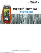 magellan triton 1500 user manual pdf download rh manualslib com magellan triton 300 handheld gps manual gps magellan triton 2000 manual