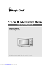 Magic Chef MCD11E3W Manuals on