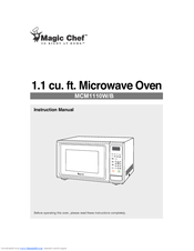Magic Chef Mcm1110b Instruction Manual