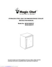Magic Chef Mcbc58dstf Manuals