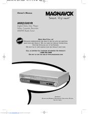 magnavox mrd500vr owner s manual pdf download rh manualslib com