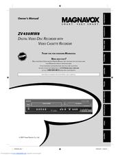 MAGNAVOX ZV450MWB OWNER'S MANUAL Pdf Download