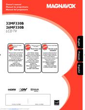 magnavox 26mf330b owner s manual pdf download rh manualslib com