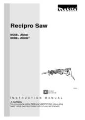 Makita JR3030T Product Manual