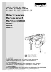 Makita HR4010C Instruction Manual