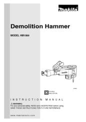MAKITA HM1500 INSTRUCTION MANUAL Pdf Download. on makita hammer grease, makita hm1500b, makita jack hammer, makita demo hammer parts,