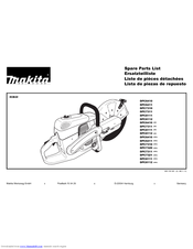 MAKITA DPC6410 (UK) SPARE PARTS LIST Pdf Download. on