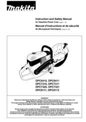 Makita DPC6410 (UK) Manuals