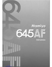Mamiya 645 af manuals.
