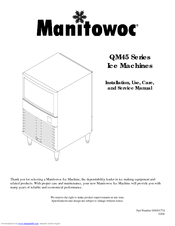 Manitowoc QM45A Manuals on