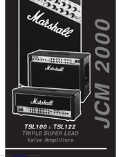 Marshall jcm2000 40w dsl401 service manual download, schematics.