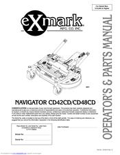 exmark navigator cd48cd manuals rh manualslib com exmark navigator owners manual Exmark Riding Mower