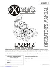 exmark lazer z hp manuals rh manualslib com exmark lazer z 60 parts manual exmark lazer z 60 parts manual