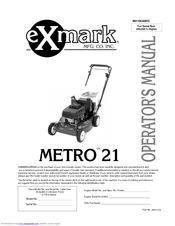 exmark m216kaspc operator s manual pdf download rh manualslib com Grass On Exmark Exmark Mowers
