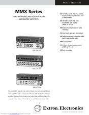 Extron MMX 42 AV Matrix Switcher Driver