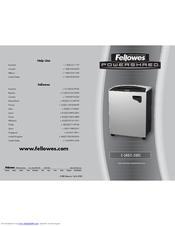 fellowes repair manual