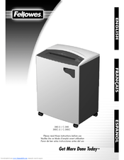 fellowes powershred c 380c manuals rh manualslib com