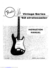 fender stratocaster manual how to buy