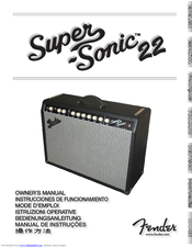 fender super sonic 22 manuals rh manualslib com Fender Amp Knobs fender supersonic 22 manual pdf