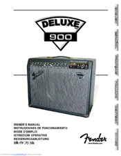 fender 900 owner s manual pdf download rh manualslib com Fender Foot Pedals Fender Pro Reverb