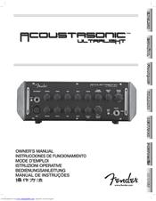 fender acoustasonic ultralight head manual