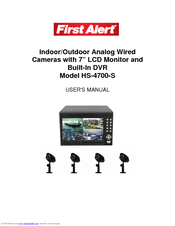 First Alert HS-4700-S User Manual