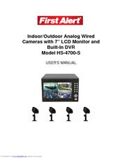 First Alert HS-4700-S User Manual
