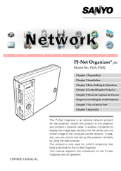 Sanyo PJ-Net Owner's Manual