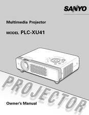 sanyo plc xu41 owner s manual pdf download rh manualslib com Sanyo Multimedia Projector PLC-XU75 Sanyo plc XM-100