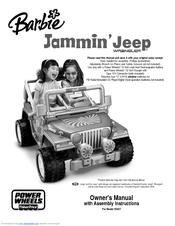 fisher price power wheels barbie jammin jeep h3427 owner s manual rh manualslib com Barbie Escalade Battery Barbie Cadillac Escalade Ext