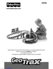 fisher price geotrax p1370 manuals rh manualslib com Fisher-Price GeoTrax Train Engine Fisher-Price GeoTrax DVD