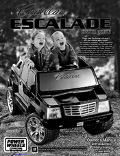 fisher price cadillac escalade h044040 manuals rh manualslib com Fisher-Price Barbie Escalade Barbie Escalade Charger