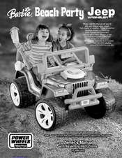Fisher-price power wheels 74765 owner's manual & assembly.