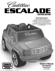 fisher price cadillac escalade m0409 manuals rh manualslib com Escalade for Barbie Doll Fisher-Price Barbie Escalade