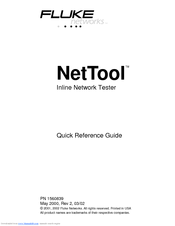 fluke nettool manuals rh manualslib com fluke nettool series 2 manual fluke nettool series ii manual