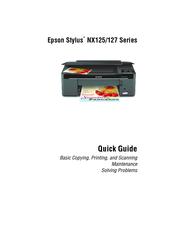 epson stylus nx125 series manuals rh manualslib com Epson Stylus NX330 Epson Stylus NX420