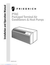 friedrich sg series manuals rh manualslib com Friedrich PTAC Parts Friedrich PTAC Units