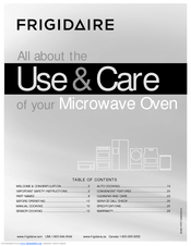 Frigidaire 16495056 Use & Care Manual