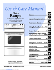 Frigidaire ES40 Use & Care Manual