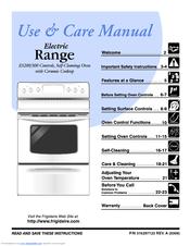 frigidaire es 300 manuals rh manualslib com Frigidaire Electric Range Manual Frigidaire Electric Range Manual