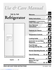 Frigidaire 240389312 Use & Care Manual