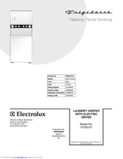 FRIGIDAIRE FEX831F FACTORY PARTS CATALOG Pdf Download. on